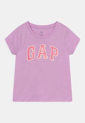 TODDLER GIRL LOGO - Print T-shirt - purple rose