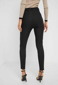 ORSAY - HIGH WAIST - Trousers - schwarz - 2