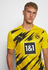 Puma - BVB BORUSSIA DORTMUND HOME REPLICA - Club wear - cyber yellow/black - 3
