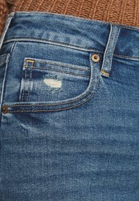 GAP - BARREL - Jeans Tapered Fit - dark indigo - 4