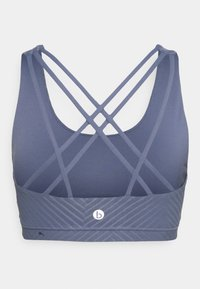 Cotton On Body - STRAPPY SPORTS CROP - Light support sports bra - blue jay - 7