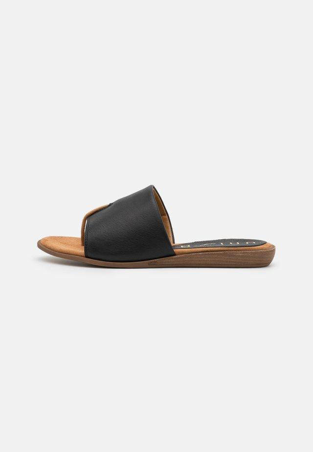 ACHO - T-bar sandals - black