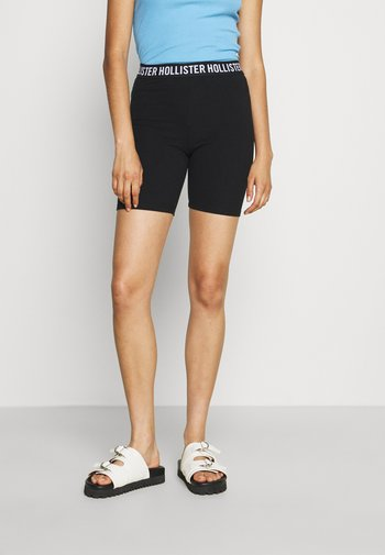 BIKE 2 PACK - Shorts - solid black/ black