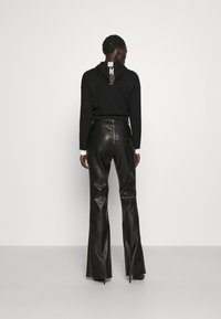 Elisabetta Franchi - Zip-up sweatshirt - nero/burro - 2