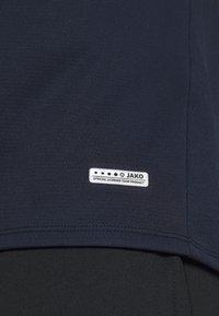JAKO - CHAMP - Print T-shirt - marine/blue/neongelb - 6