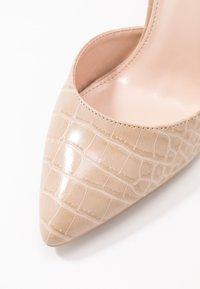RAID Wide Fit - WIDE FIT MAHI - High heels - nude - 2