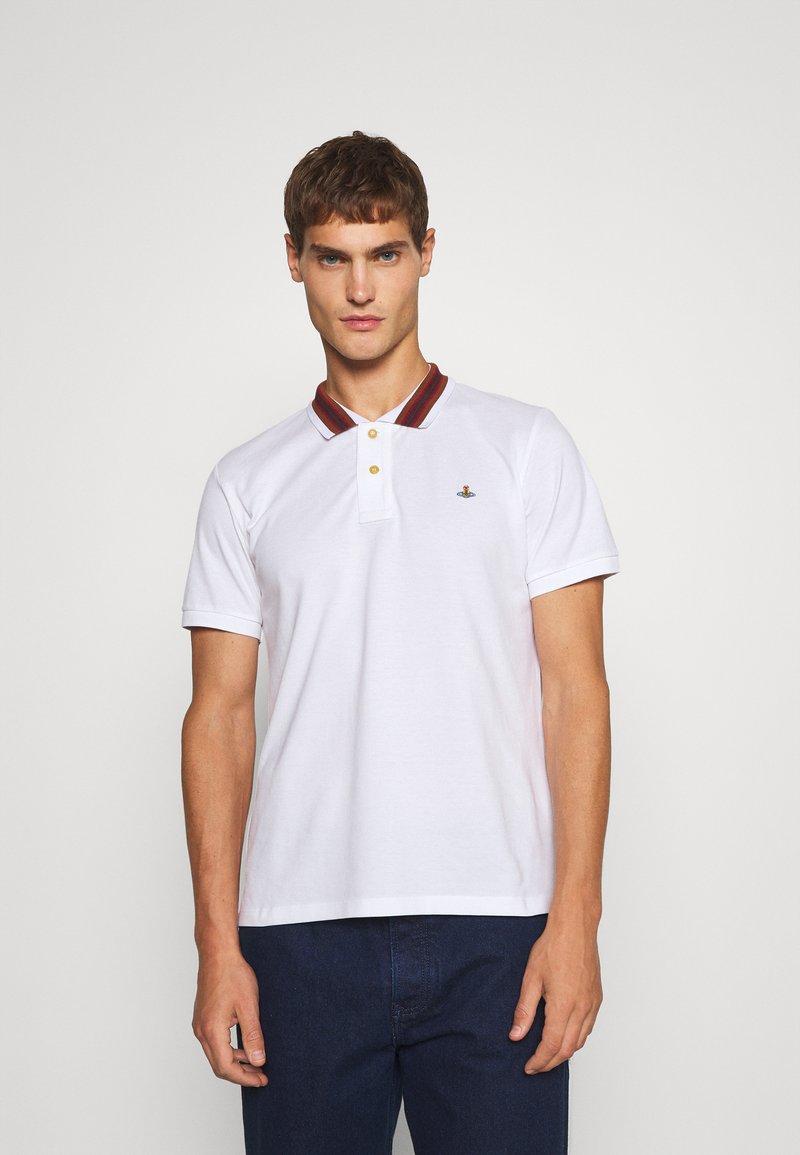 Vivienne Westwood - CLASSIC STRIPE COLLAR - Polo shirt - white