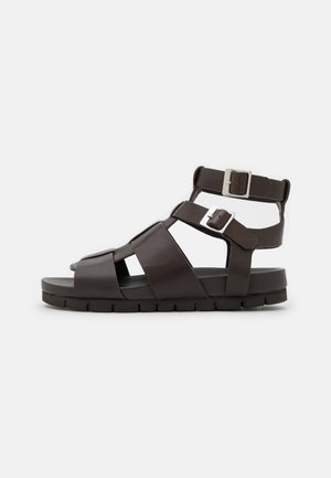 LOTTIE - Sandals - dark brown