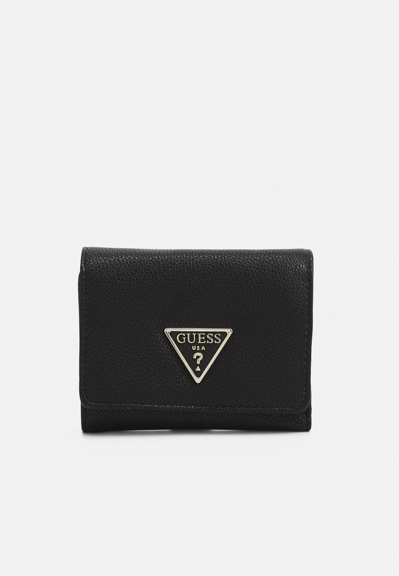Guess - SANDRINE SMALL TRIFOLD - Wallet - black