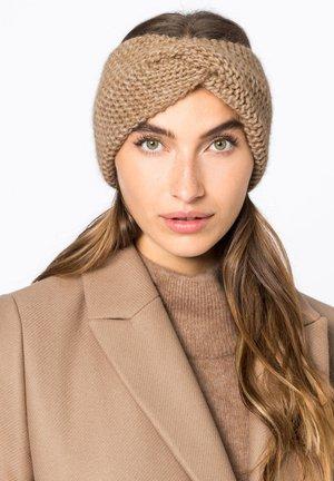 Ear warmers - camel
