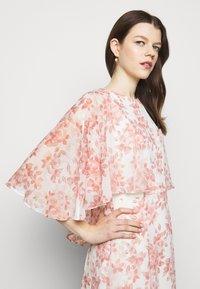 Lauren Ralph Lauren - PRINTED CRINKLE LONG - Occasion wear - colonial cream/pink - 3