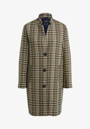 Classic coat - black green