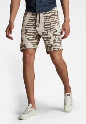FRONT POCKET ARTWORK SPORT - Shorts - whitebait gothic vert