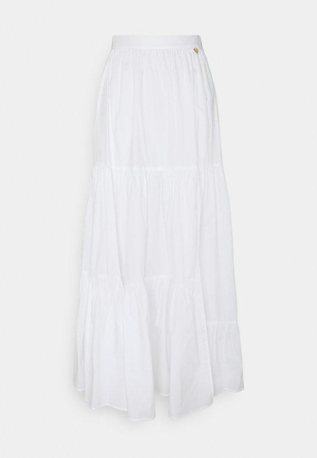 Maxi skirt - bianco ottico