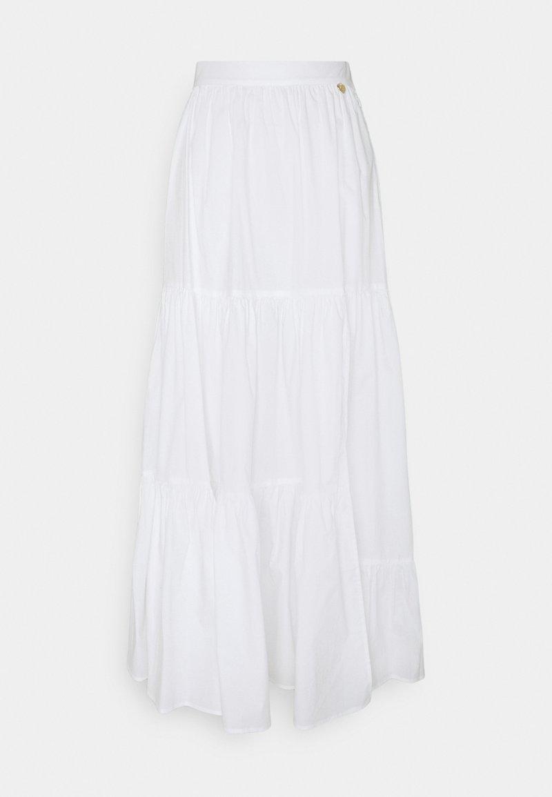 TWINSET - Maxi skirt - bianco ottico