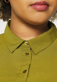 Simply Be - UTILITY SHIRT DRESS - Shirt dress - khaki - 3