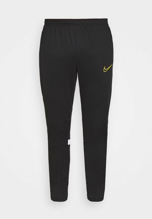 ACADEMY PANT - Tracksuit bottoms - black/white/saturn gold