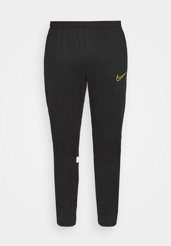 ACADEMY PANT - Pantaloni sportivi - black/white/saturn gold