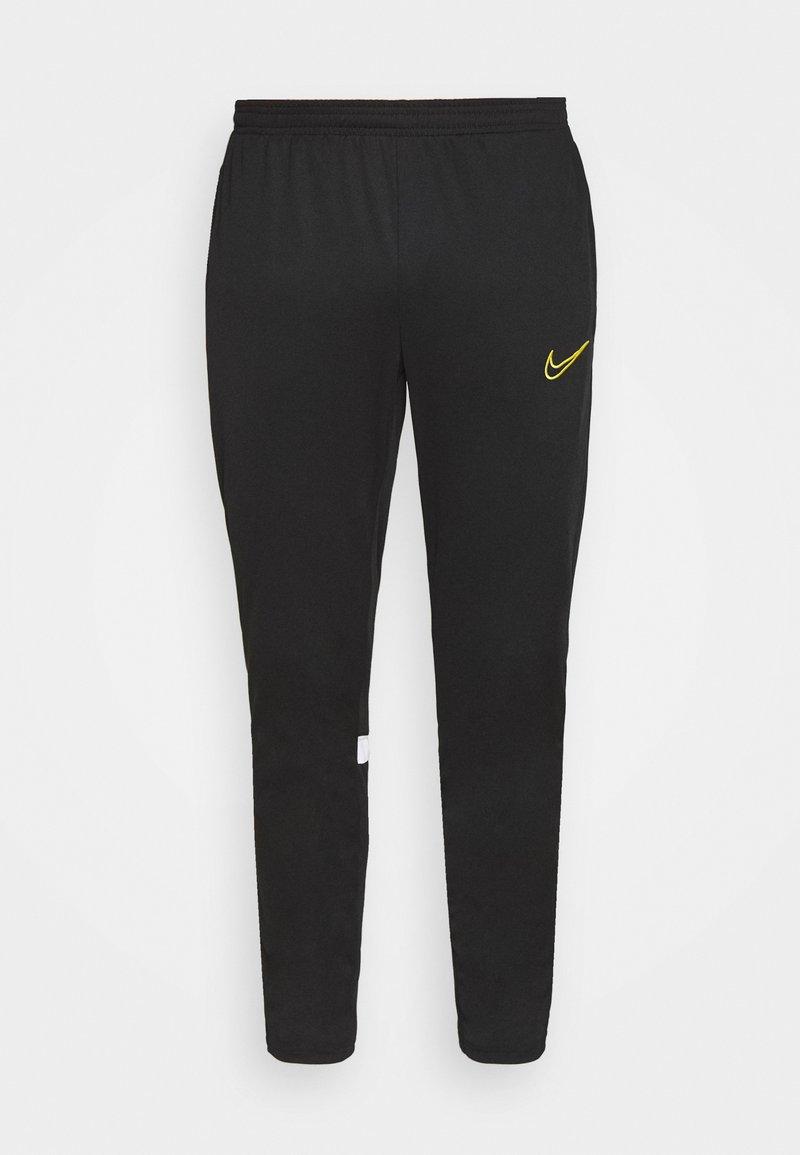 Nike Performance - ACADEMY 21 PANT - Trainingsbroek - black/white/saturn gold