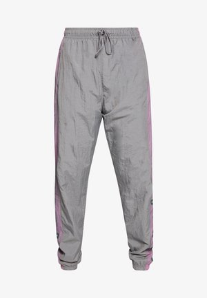 Tracksuit bottoms - smoke grey/frosted plum