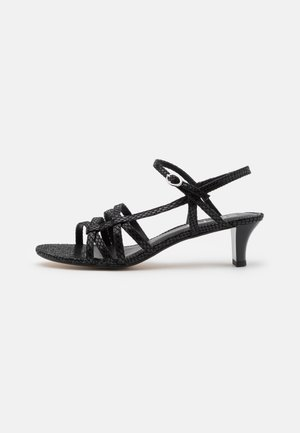 BIRKIN SNAKE - Sandalen - black