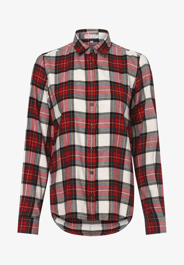 Button-down blouse - ecru rot
