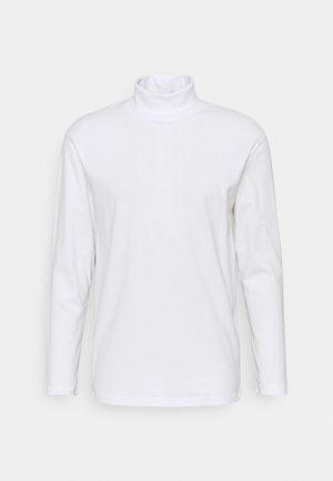 JJERILEY TEE TURTLE NECK - Maglietta a manica lunga - white