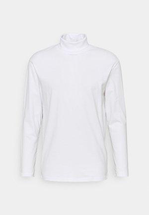 JJERILEY TEE TURTLE NECK - Langærmede T-shirts - white