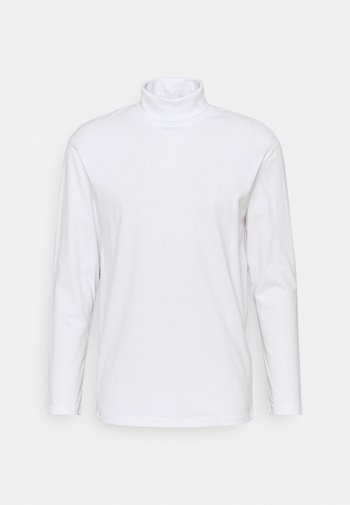 JJERILEY TEE TURTLE NECK - Långärmad tröja - white