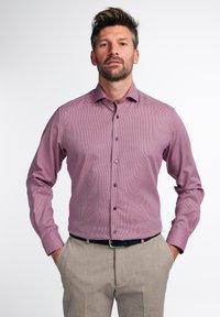 Eterna - LANGARM MODERN FIT - Shirt - rot - 0