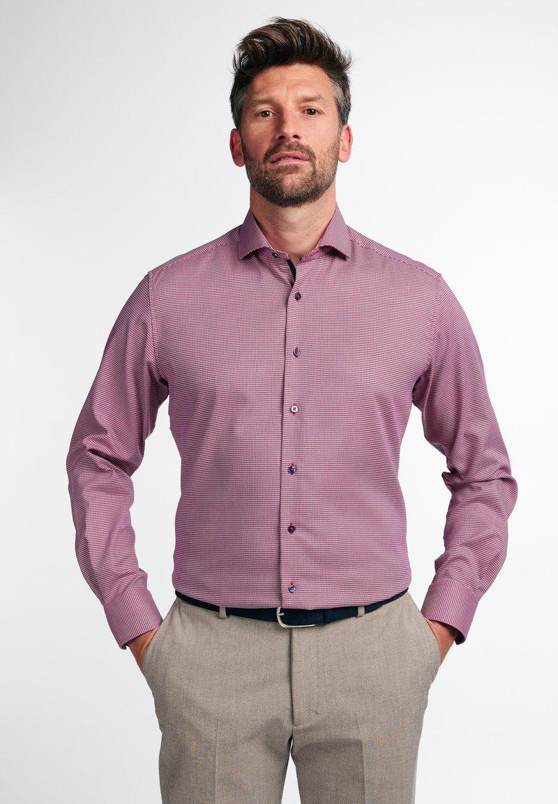 Eterna - LANGARM MODERN FIT - Shirt - rot
