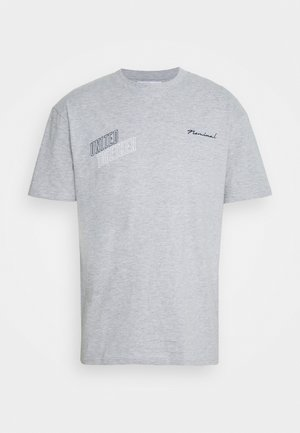 UNITED - T-shirt med print - grey