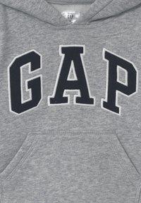 GAP - TODDLER BOY LOGO - Jersey con capucha - light heather grey - 2