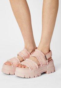 Buffalo - VEGAN ASPHA  - Platform sandals - rose - 0