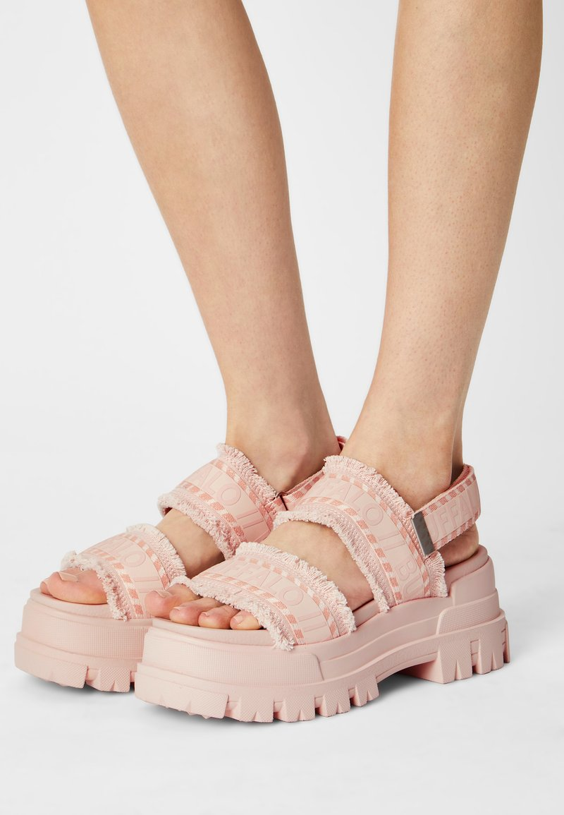 Buffalo - VEGAN ASPHA  - Platform sandals - rose