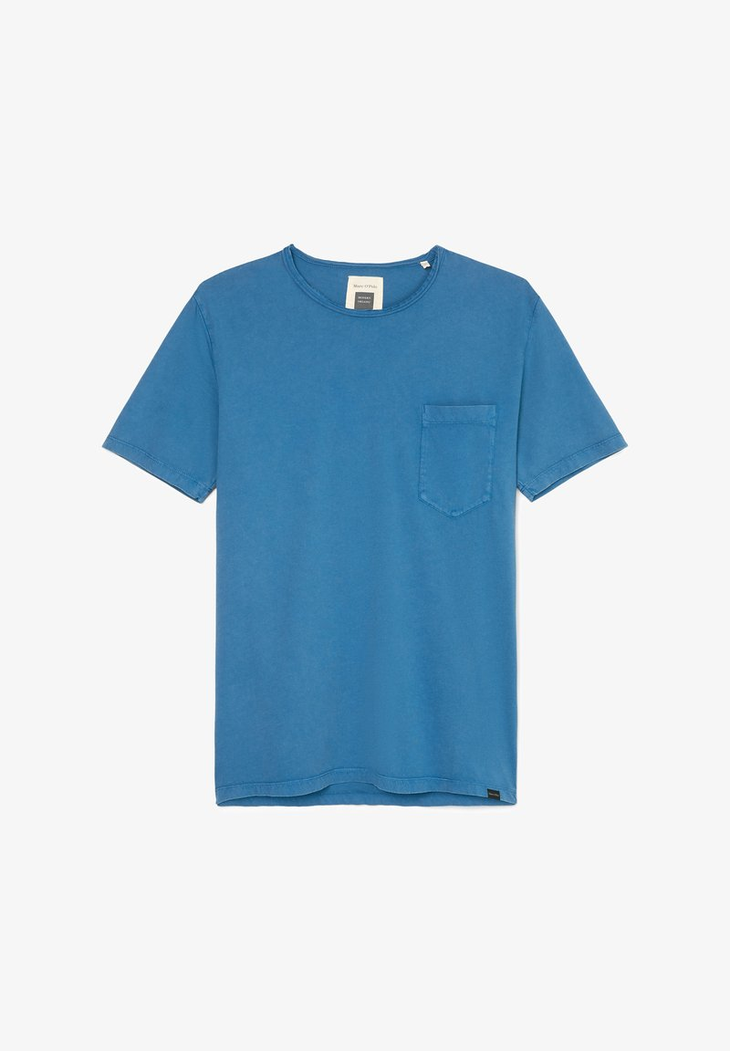 Marc O'Polo T-SHIRT AUS ORGANIC COTTON - T-Shirt basic - dark blue/blau FlB9ej