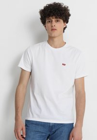 Levi's® - ORIGINAL TEE - T-shirt - bas - white - 0