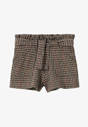 Shorts - brązowy