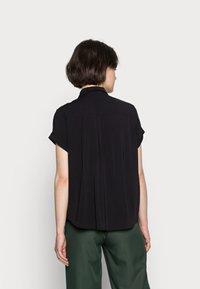 Samsøe Samsøe - MAJAN - Button-down blouse - black - 2