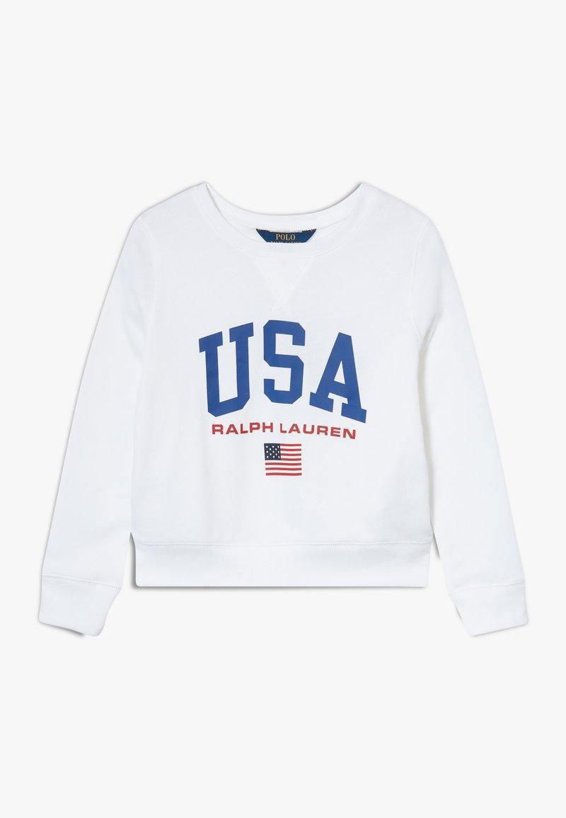 Polo Ralph Lauren - GRAPH  - Sweatshirt - pure white