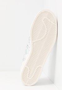 adidas Originals - SUPERSTAR PURE - Trainers - footwear white/core white - 6