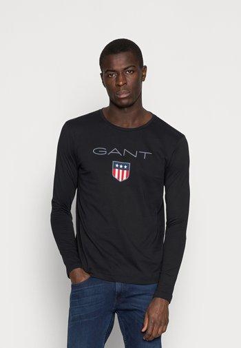 SHIELD - Long sleeved top - black
