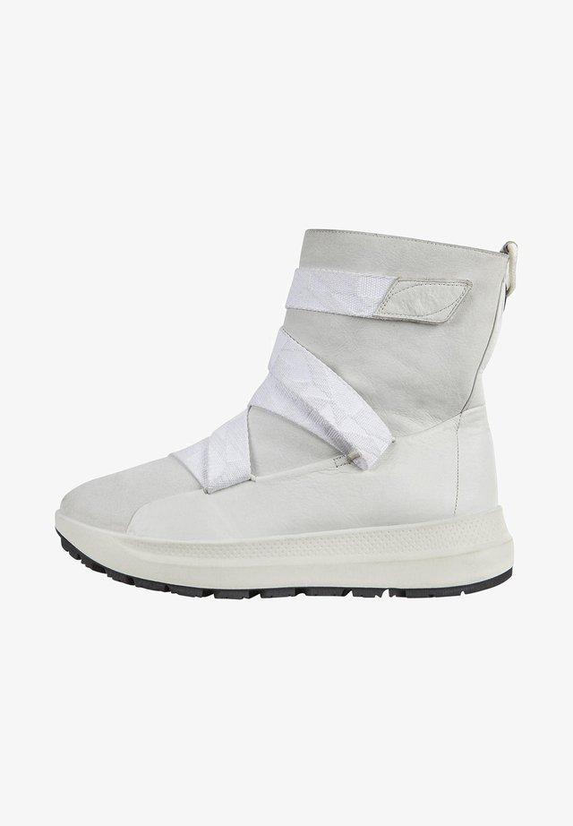 SOLICE W HIGH DYN - Klassiska stövlar - white/white