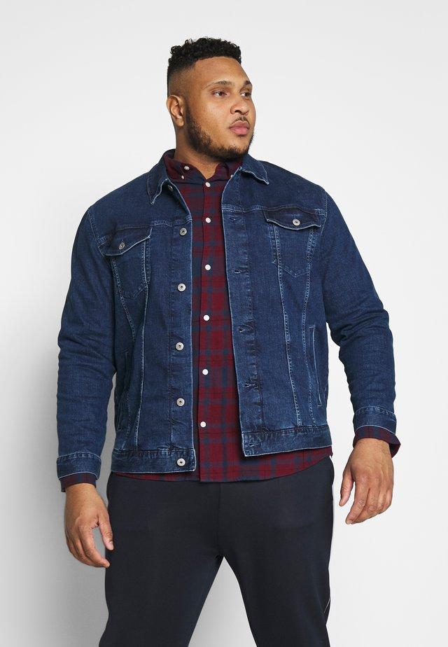 TRUCKER DENIM JACKET - Veste en jean - mid stone wash denim blue