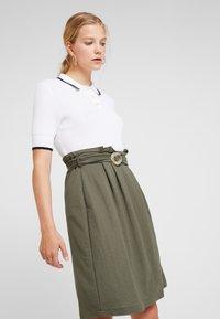 mint&berry - Áčková sukně - khaki - 3