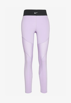 AEROADAPT - Legginsy - infinite lilac/black/metallic silver