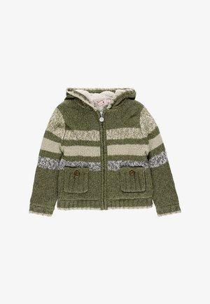 veste en sweat zippée - taupe