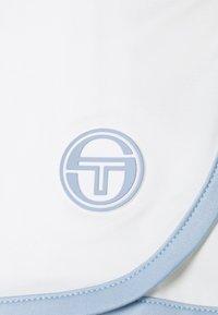 Sergio Tacchini - SHORTS WOMAN - Sportovní kraťasy - blanc de blanc/kentucky blue - 2