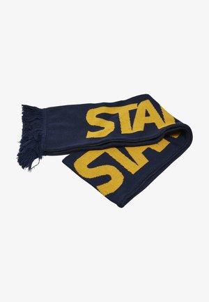 Sjaal - navy/port/californiayellow