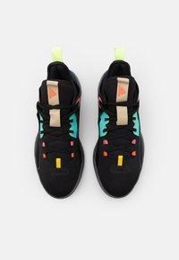 adidas Performance - HARDEN STEPBACK 2 - Scarpe da basket - core black/yellow/acid mint - 3